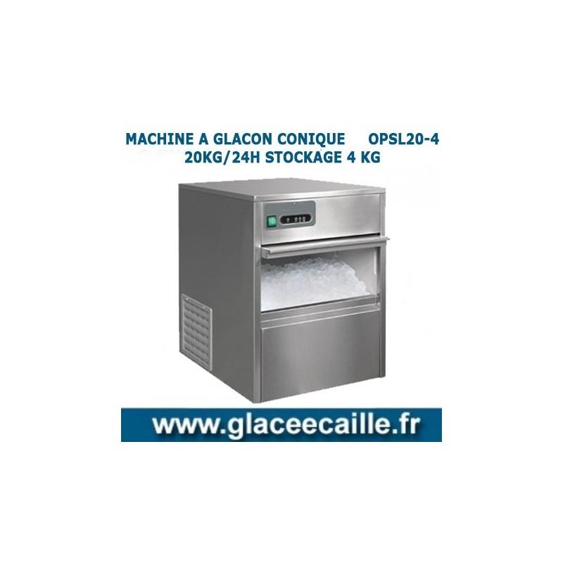 Machine gla ons conique 20 kg 24h odyssee - Sac glacons 20 kg ...