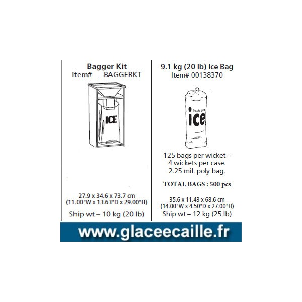 sac de glace sachet de glace glace en sachet. Black Bedroom Furniture Sets. Home Design Ideas