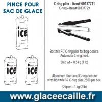 PINCE POUR SAC DE GLACE