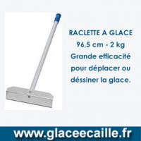 RACLETTE A GLACE ECAILLE