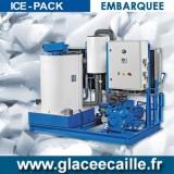 Machine a Production de Glace en écaille EMBARQUEE