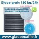 Machine à glace grain 150 kilo par 24h ITV