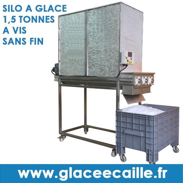 silo glace pour machine glace caille. Black Bedroom Furniture Sets. Home Design Ideas