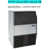 MACHINE GLACON PLEIN MANITOWOC 40KG/24H