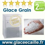 Machine à glace grain paillette 1000 kg et stockage