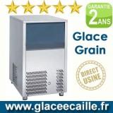 Machine à glace grain 120 kg par 24h stockage 25 kg
