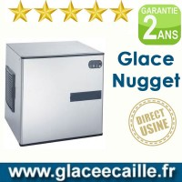 Machine à glaçons nuggets 140 kg/24h