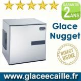 Machine à glaçons nuggets 440 kg/24h sans bac de stockage