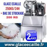 Machine à glace paillette écaille 250kg/24h