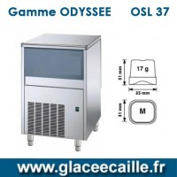 Machine à glaçons ronds 37kg/24h ODYSSEE