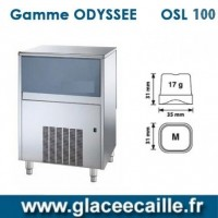 Machine à glaçons ronds 100kg/24h ODYSSEE