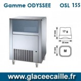 Machine à glaçons ronds 155 kg/24h ODYSSEE