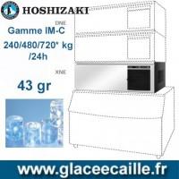 MACHINE GLACON ROND 240  KG à720 KG/24H HOSHIZAKI MODULAIRE