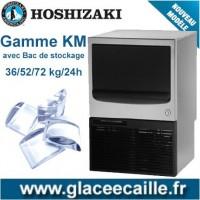 MACHINE GLACON DEMI LUNE 36 KG à 128kg/24H HOSHIZAKI BAC INTEGRE