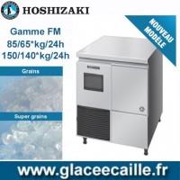 MACHINE GLACON GRAIN ET SUPER GRAIN 85/65KG à 150/140KG/24H HOSHIZAKI BAC INTEGRE