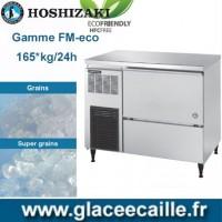 MACHINE GLACON ECO GRAIN/SUPER GRAIN 165KG/24H HOSHIZAKI