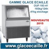 Machine à glace écaille 193kg/24h ODYSSEE AVEC BAC DE STOCKAGE