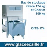 BAC DE STOCKAGE 174 KG ODYSSEE AVEC 1 CHARIOT