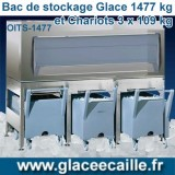 BAC DE STOCKAGE 1477 KG ODYSSEE AVEC 3 CHARIOTS