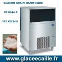 Machine à glace grain 312kg /24h MANITOWOC avec Stockage 54  kg