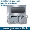BAC DE STOCKAGE 600 kg  MANITOWOC AVEC 2 CHARIOTS
