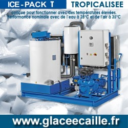 Machine à Glace écaille 6500 kg/24h TROPICALISE