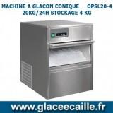 Machine à glaçons CONIQUE 20 kg/24h ODYSSEE