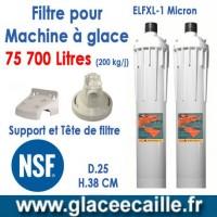 Filtre pour machine à glace