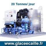 Machine à glace écaille 20 tonnes/24h ODYSSEE