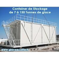 CONTAINER DE STOCKAGE POUR MACHINE A GLACE