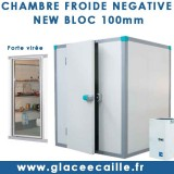 CHAMBRE FROIDE NEGATIVE NEW BLOC 100mm