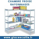CHAMBRE FROIDE RAYONNAGES