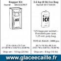SAC DE GLACE de 3,6 kg par 1000