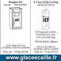 SAC DE GLACE DE 9 KG par 500