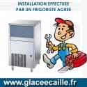 INSTALLATION MACHINE GLACE ECAILLE