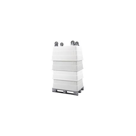 COUVERCLE POUR CHARIOT A GLACE 300L