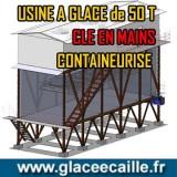 Usine à glace écaille 50 tonnes/24h Afrique