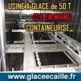 Usine à glace écaille 50 tonnes