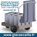 CHARIOT A GLACE 34 KG HYGIENE