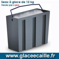 SEAU A GLACE 12 KG PAR 6