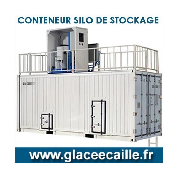 CONTENEUR DE STOCKAGE GLACE ECAILLE