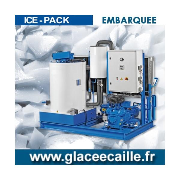 Production de Glace en écaille EMBARQUEE