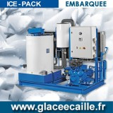 Production de Glace en écaille EMBARQUEE