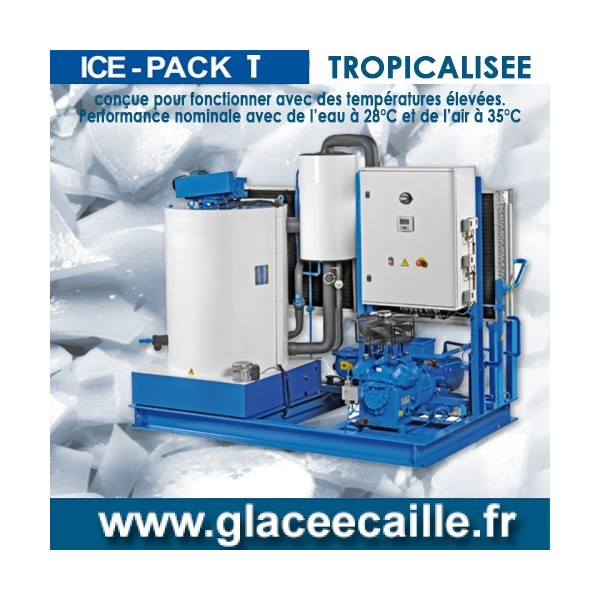 Machine à Glace écaille 3100 kg/24h TROPICALISE