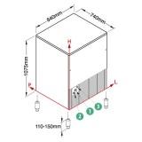Machine à glaçons cubes ODYSSEE