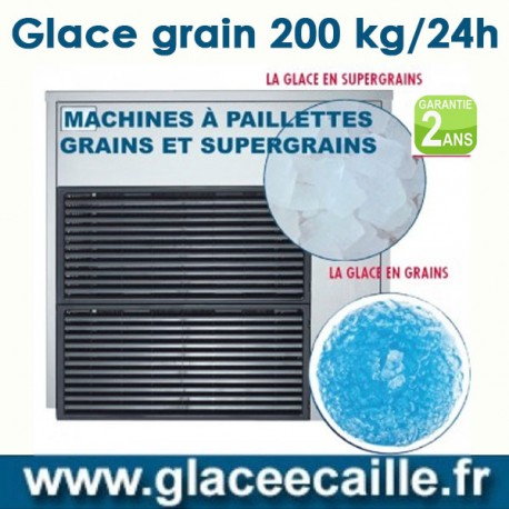Machine à glace grain 200 kilo par 24h ITV