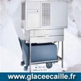 Machine a glace grain Pilée 1100 kilo par 24h ITV