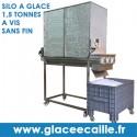 SILO A GLACE ECAILLE 1,5 tonnes