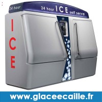 DISTRIBUTEUR AUTOMATIQUE DE SAC DE GLACE 24H/24