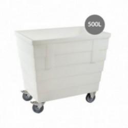 BAC AUTOPORTEUR 500L ROUES INOX